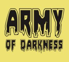 ARMY OF DARKNESS by Zombie Ghetto Kids Clothes