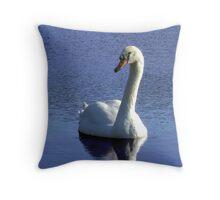 Sadie the Swan Throw Pillow