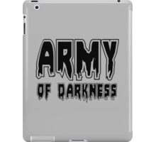 ARMY OF DARKNESS by Zombie Ghetto iPad Case/Skin