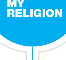 Music is my Religion Sticker