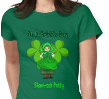 Shamrock Patty ready for St Patrick's Day T-Shirt, leggings, etc Womens Fitted T-Shirt