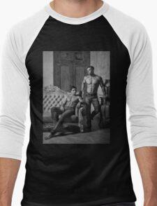 Two Evils Men's Baseball ¾ T-Shirt
