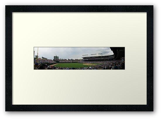 Wrigley Field by Jordan Aschwege