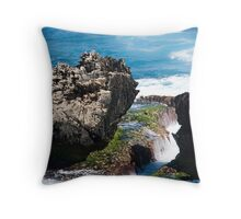 Coastal Sculpture Throw Pillow