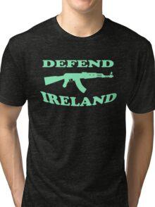 defend ireland ak47 Tri-blend T-Shirt