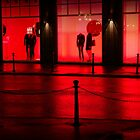 Window shopping (red) by Andreas Braun