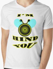 I'm bee hind you Mens V-Neck T-Shirt