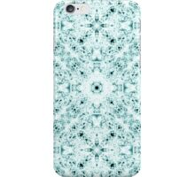 """Spirit of India: Two Crosses"" in white and turquoise iPhone Case/Skin"