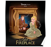 The Girl In The Fireplace Poster