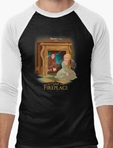 The Girl In The Fireplace Men's Baseball ¾ T-Shirt