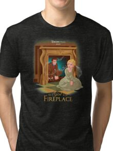 The Girl In The Fireplace Tri-blend T-Shirt