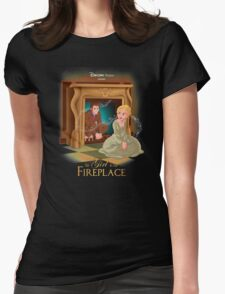 The Girl In The Fireplace Womens Fitted T-Shirt