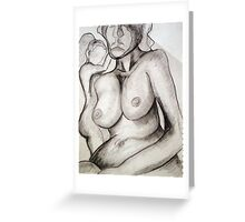 NUDE 4 Greeting Card