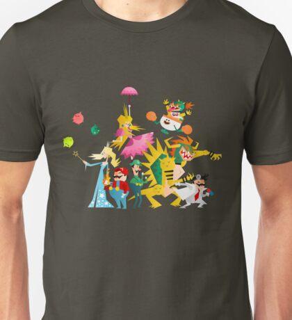 Mushroom Kingdom Smashers! Unisex T-Shirt