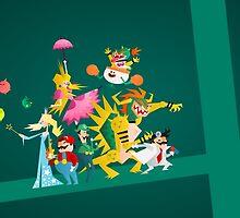 Mushroom Kingdom Smashers! by LoriLoriLori
