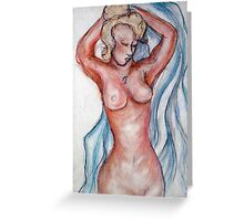 NUDE 5 Greeting Card