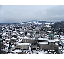Overlooking Salzburg Photographic Print