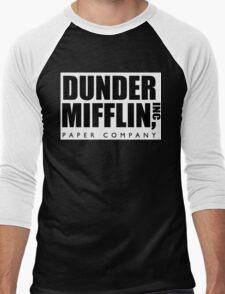 DUNDER MIFFLIN INC Men's Baseball ¾ T-Shirt
