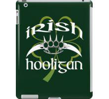 irish hooligan - brass knuckles iPad Case/Skin