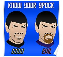 Know Your Spock Poster