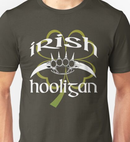 irish hooligan - brass knuckles Unisex T-Shirt