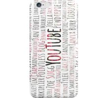The Ultimate YouTube Collage iPhone Case/Skin