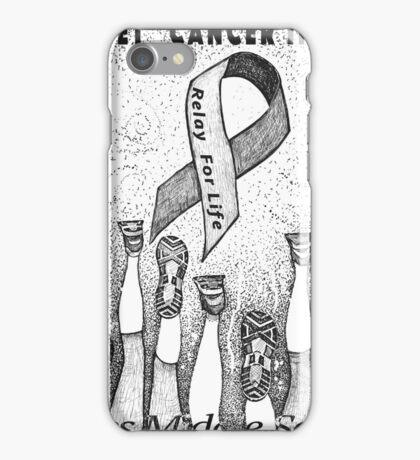 "De""feet"" Cancer iPhone Case/Skin"