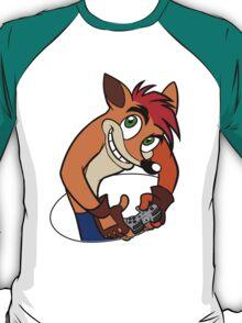 Retro Gamer Crash Bandicoot T-Shirt