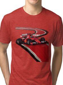 Ferrari SF15-T - Kimi7 Tri-blend T-Shirt