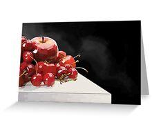 Eat More Fruit Greeting Card
