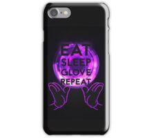 Gloving - Emazing Lights LED (Purple) iPhone Case/Skin