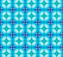 "Texture ""east pattern"" the blue by floraaplus"