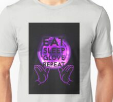 Gloving - Emazing Lights LED (Purple) Unisex T-Shirt