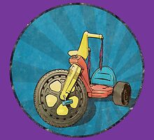 Big Wheel (purple) by torg