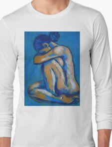 Blue Soul 2 - Female Nude Long Sleeve T-Shirt