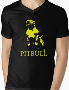 pitbull monster Mens V-Neck T-Shirt