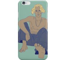 Skinny Man, Sexy Feet iPhone Case/Skin