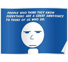 Annoyance Poster