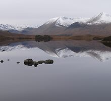 CALM DAY HEAD OF GLENCOE by Barry Adkin