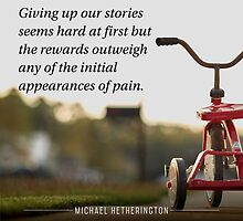 Giving Up the Stories by Zenology Arts