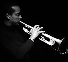 Horn Player by Jarede Schmetterer