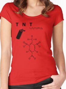 TNT - explosive Women's Fitted Scoop T-Shirt