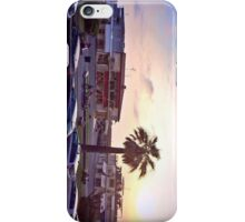 Italy balcony sunset view iPhone Case/Skin