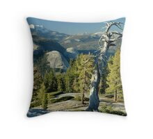 Sentinel Dome Evening Throw Pillow