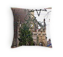City centre of Chichester Throw Pillow