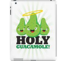 Holy Guacamole! (Light Version) iPad Case/Skin