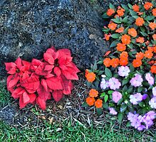 Reality Xmas Like Flowers Duvet by GolemAura