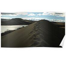 Traversing the tallest Dune Poster