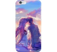 Sword Art Online - Asuna and Kirito Lovers iPhone Case/Skin