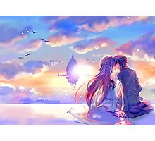 Sword Art Online - Asuna and Kirito Lovers Photographic Print